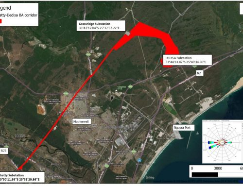 Extension to Electrical Grid Corridor for Impofu Wind Farms, EC